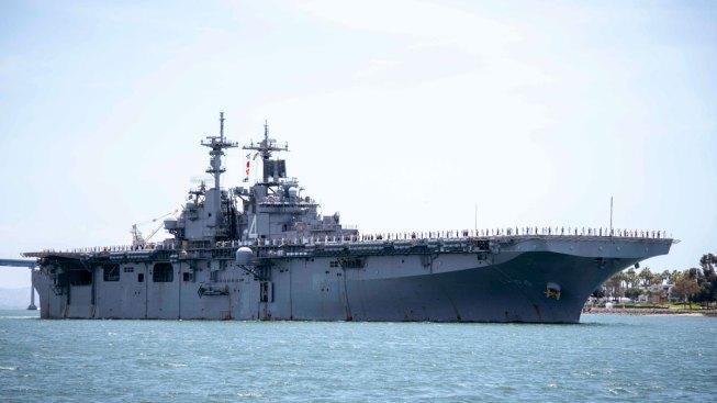 American Warship Destroys Iranian Drone in Strait of Hormuz