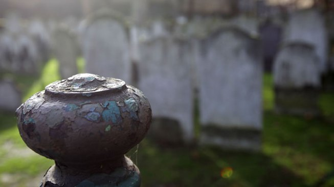 Man Finds Strangers Buried in Family Plot