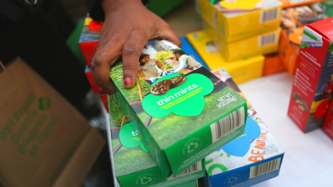 Man Arrested in Girl Scout Cookie Cash Box Theft