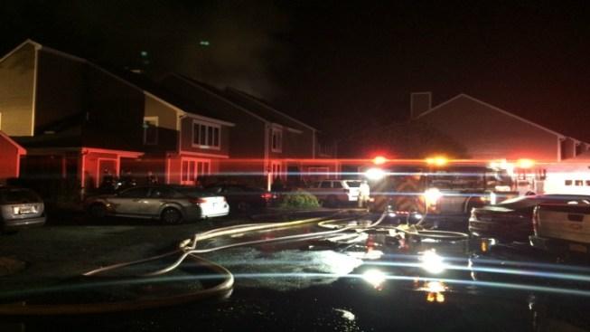 Fire Rips Through Guilford Condo Complex