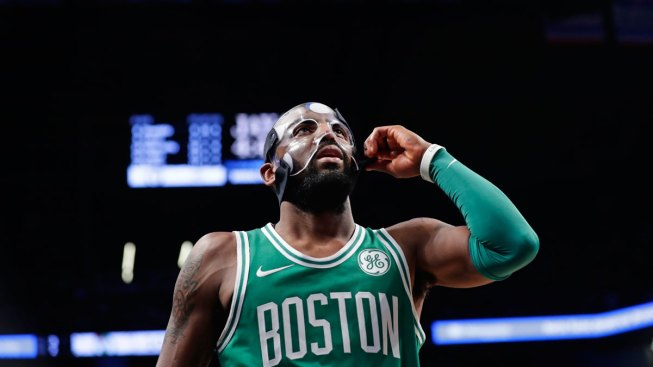 Masked Man: Irving Returns As Celtics Win 13th Straight Game