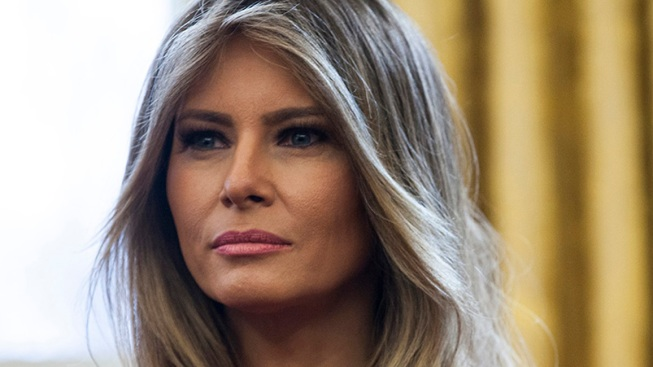 School librarian rejects books donated by Melania Trump