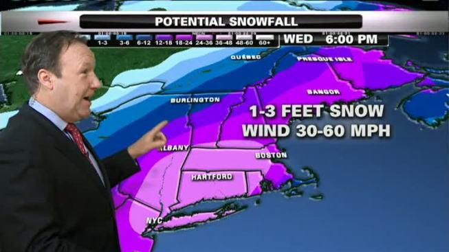 Major Nor'Easter Coming Tuesday