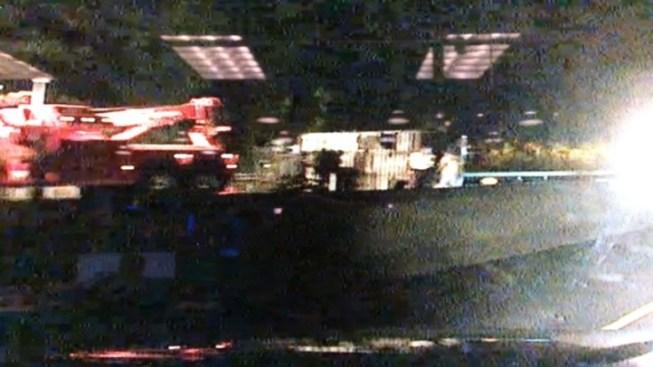 Sausage Truck Crash Closes Part of I-95