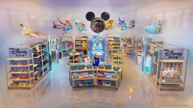 Disney Is Putting Dozens of Stores Inside Target Locations; Target Set to Open at Walt Disney World Resort