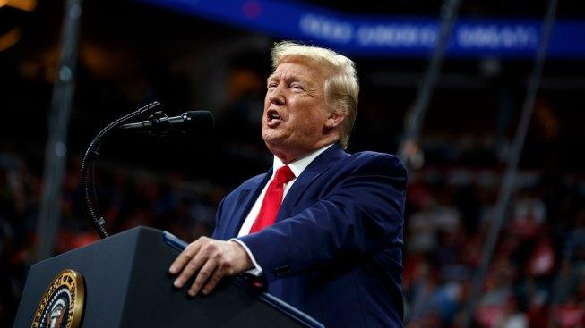 Trump Attacks Biden, Slams Impeachment Probe at Minn. Rally