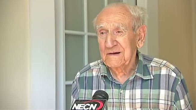 94-Year-Old Market Basket Bagger Presented With Check