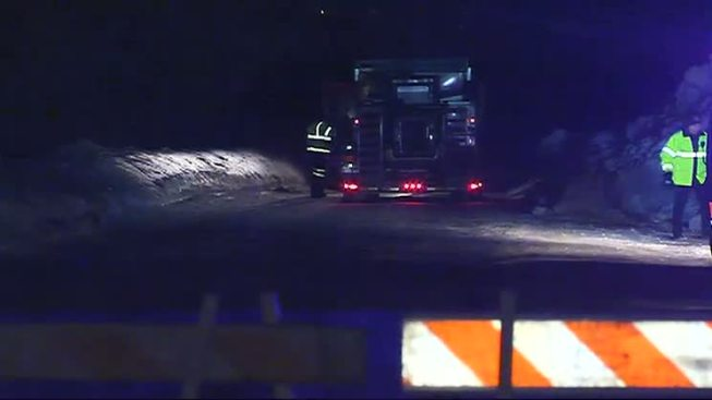 Woman Struck by Plow, Seriously Hurt