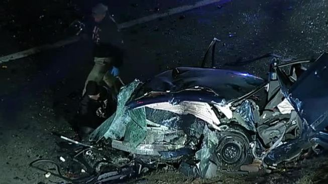 2 Killed in Wrong-Way Crash
