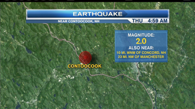 Earthquake Hits New Hampshire for 2nd Day in a Row