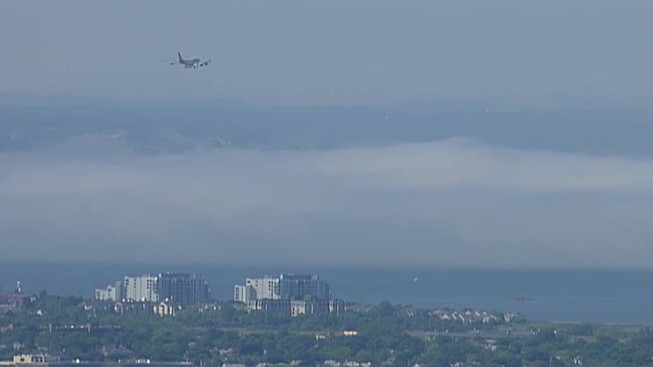 Fog Causes Delays at Logan Airport