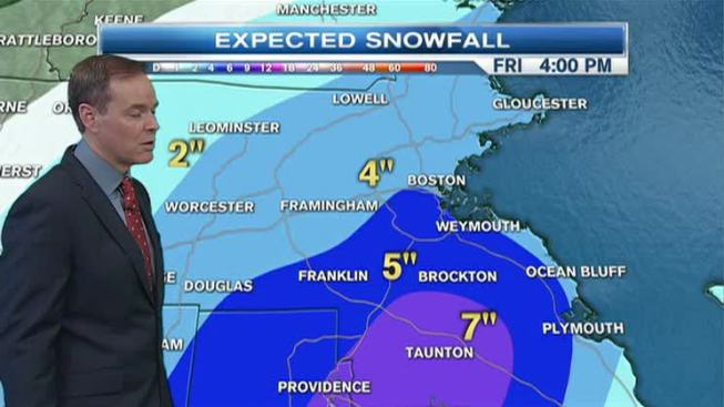 Winter Roars Back: Heavy Snow Friday
