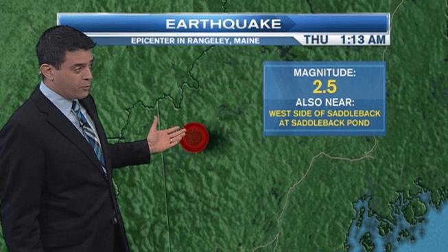2.5 Magnitude Earthquake Hits Maine