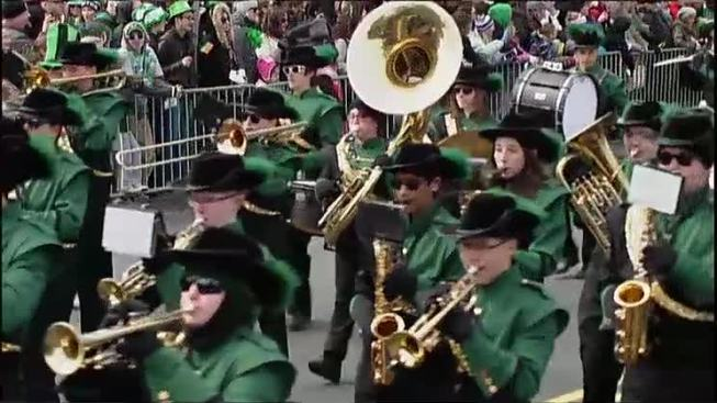 MBTA Service Information for St. Patrick's Day Parade