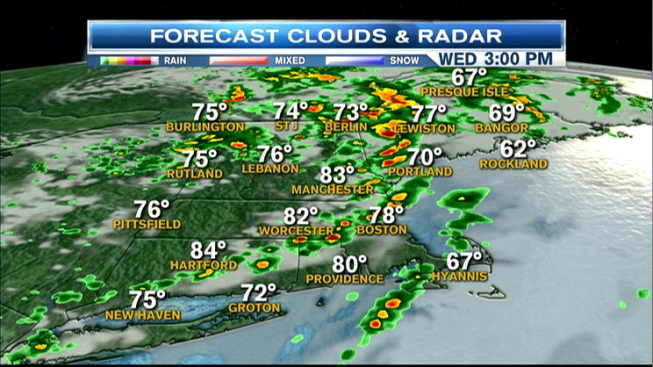 Humid With Spots of Thunder This Afternoon