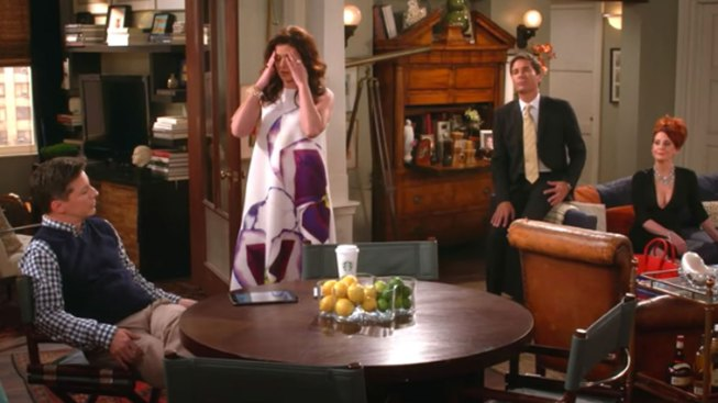 'Will and Grace' Cast Reunites In Pro-Clinton Video