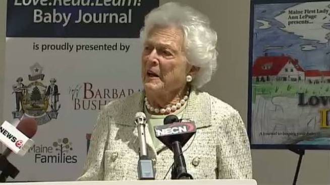 Barbara Bush Released From Texas Hospital