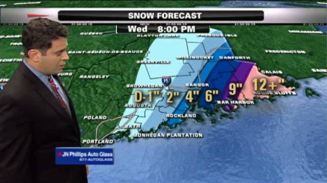 Eastern Maine Prepares for Spring Blizzard