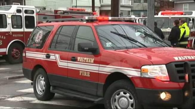 2-alarm Fire Breaks Out in Waltham, Mass.