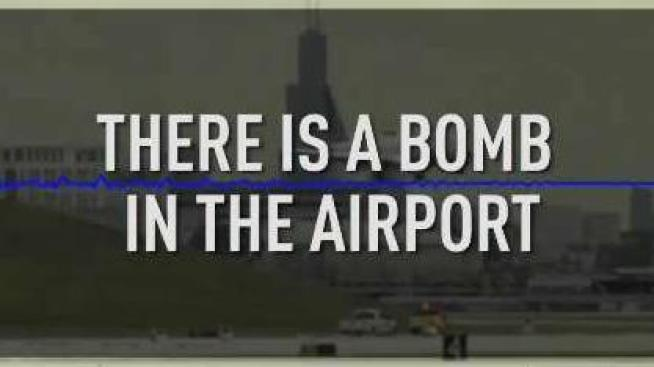 Listen: Caller Threatened 'Bomb in the Airport' Before EMT Stabbing