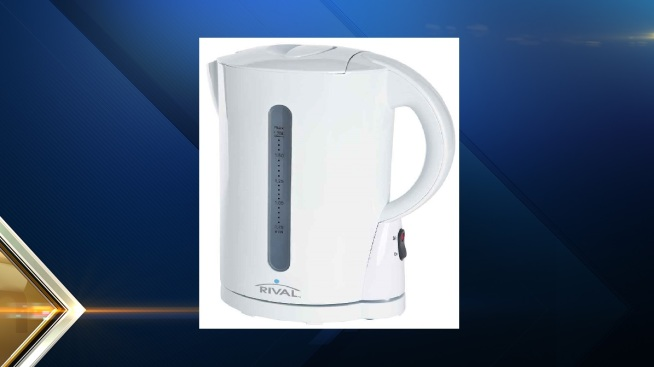Walmart Recalls Rival Electric Water Kettles Due to Burn