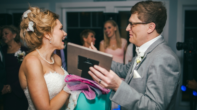Bride's Happy News at Wedding: 'I'm Two Months Pregnant'