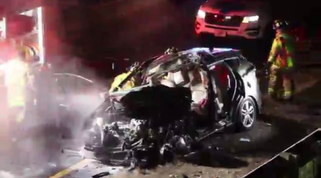 Injuries Reported in Multi-Car Crash on I-93 in Wilmington, Massachusetts