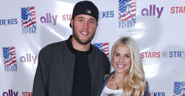Wife of Lions Quarterback Matthew Stafford Has Brain Tumor