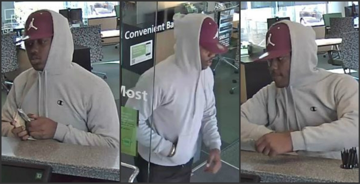 Police Hunt For Suspected Brighton Bank Robber