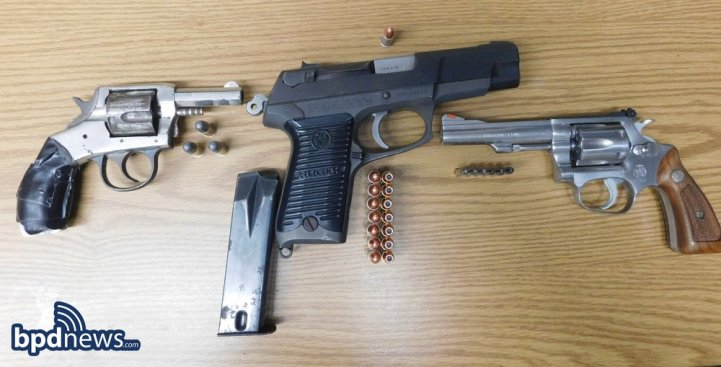 2 Arrested in Boston for Gun Possession