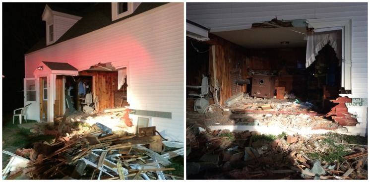 Motorist Crashes Into Elderly Woman's Home, Flees the Scene
