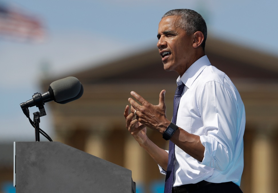 Obama in Philly: Hillary Clinton Is 'Steady' and 'True'
