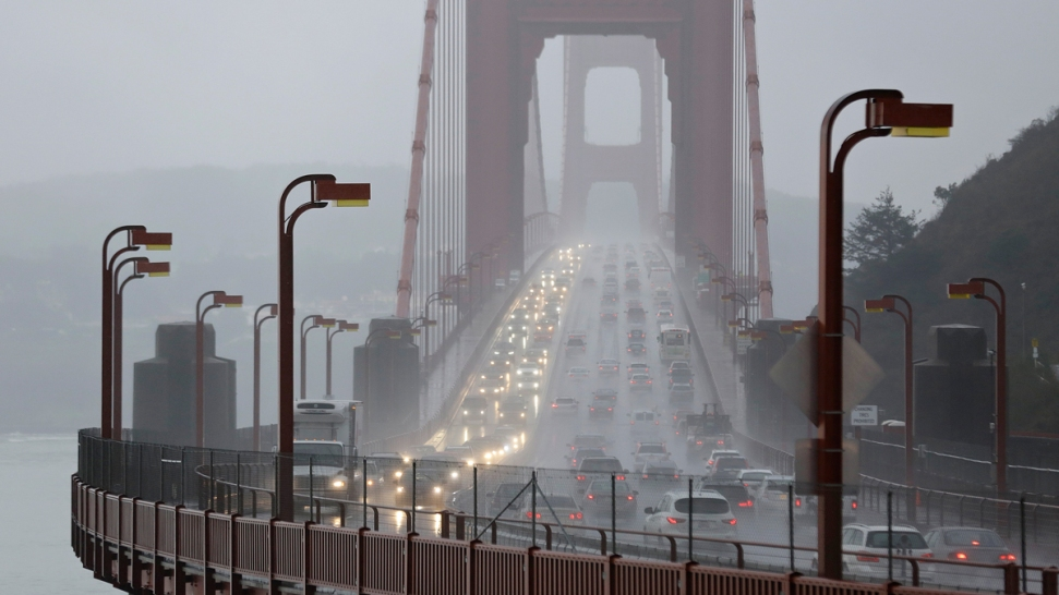 El Nino storms slam drought-parched California