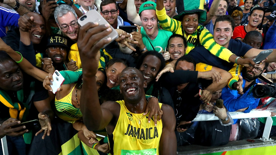 Bolt Bummed After Gold: 'I Really Wanted to Run Faster'
